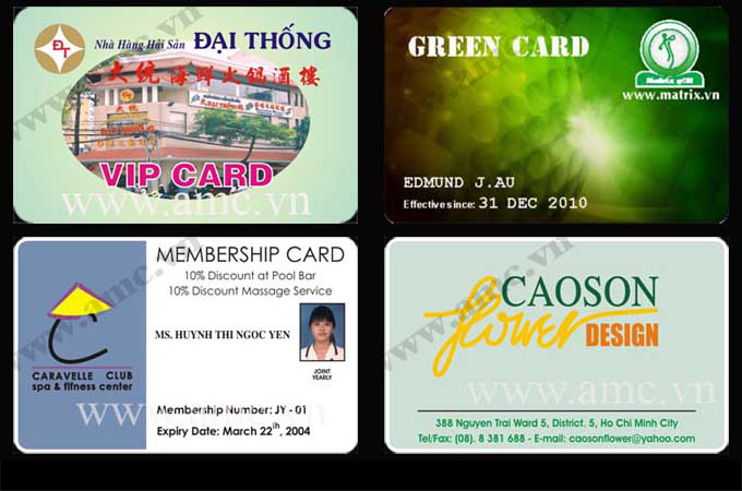 Member card sample - CORPORATION ALLIANCE MEMBER