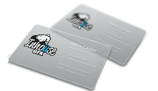 Clear+Business+Card