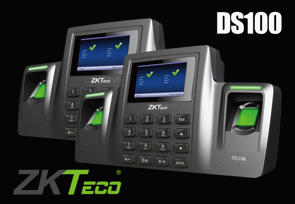 DS100 Zkteco BIOMETRIC TIME & ATTENDANCE - CORPORATION ALLIANCE MEMBER